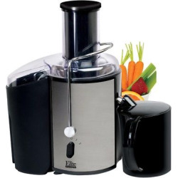 Elite Platinum 2 Speed Whole Fruit Stainless Steel Juice Extractor, Silver