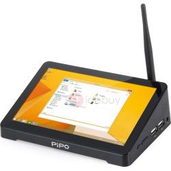 PIPO X8 Mini TV Box WiFi Quad Core 2G & 32G with Screen & Android Windows System mini-PC