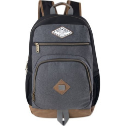 Kelty Camden Backpack with Vinyl Bottom, Black