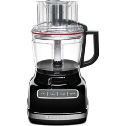 KitchenAid KFP1133 11-Cup Food Processor with ExactSlic System, Black