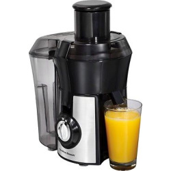 Hamilton Beach Big Mouth Pro Juice Extractor – Stainless 67608, Black/Stainless