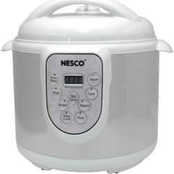Nesco Stainless Steel 6-qt. Pressure Cooker, Multicolor
