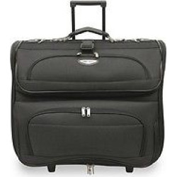 Travel Select Amsterdam Rolling Garmet Bag – Black, Gray