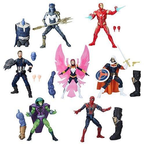 Avengers Infinity War Marvel Legends 6-Inch Action Figures Wave 1 Set