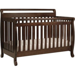 DaVinci Emily 4-in-1 Convertible Crib Espresso (Brown)
