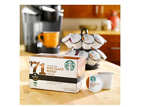 Starbucks Pike Place Torrefaction Roast, K-Cup for Keurig Brewers, 108 Count ,Starbucks-aw5j