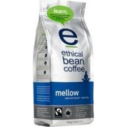 Ethical Bean Coffee Organic Mellow Medium Roast Whole Bean Coffee, 12-ounce Bags (Pack of 6)