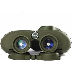 Binoculars Powerful Russian Military 7X50/10X50 Marine Telescope Digital Compass Low-Light Level Night Vision Binocular For Bird Watching Sightseeing Hunting Wildlife Watching Sporting Events,10X50