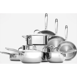 OXO Tri-Ply Stainless Steel Pro 13-Piece Cookware Set