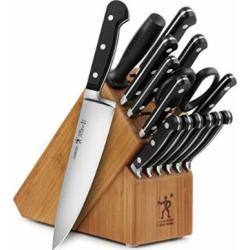 J.A. Henckels International Classic 16-piece Forged Knife Block Set