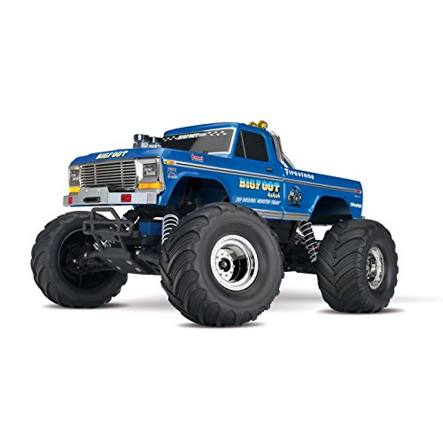 traxxas 36034 1 bigfoot no 1 2wd 110 scale monster truck vehicle blue - Allshopathome-Best Price Comparison Website,Compare Prices & Save