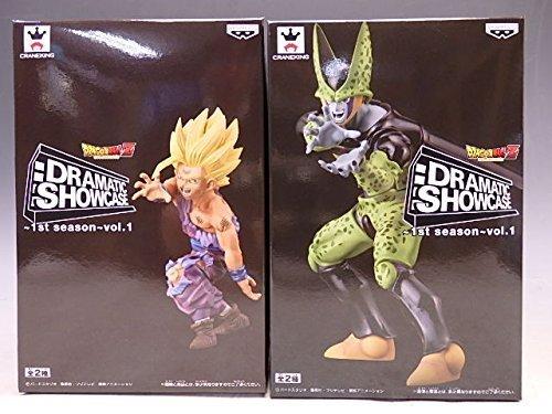 Dragon Ball Z Dramatic Showcase 1st Season Vol.1 2figures Complete Set Banpresto Japan