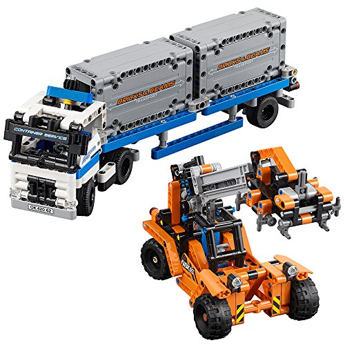 LEGO Technic Container Yard 42062 Building Kit (631 Piece)