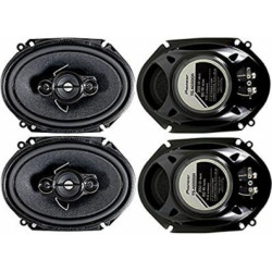4 Pioneer 5×7 / 6×8 Inch 4-Way 350 Watt Car Stereo Speakers Four   TS-A6886R