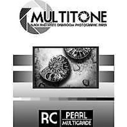 MultiTone Black & White Resin Coated BW Pearl Luster Darkroom Photographic Paper, 8×10, 100 Sheets