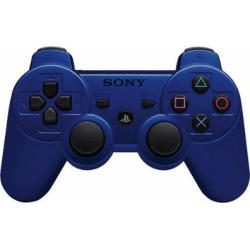 Sony Playstation PS3 Dualshock 3 Controller – Blue (99007)