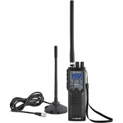 Cobra HHRT50 Road Trip CB Radio,2-Way Handheld CB Radio with Rooftop Magnet Mount Antenna, NOAA Channels, Dual Watch, 40 Channel