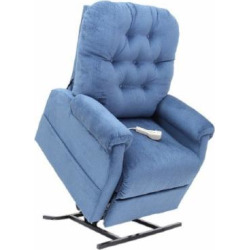 Mega Motion 3 Position Chair Model LC200, Navy-1 ea