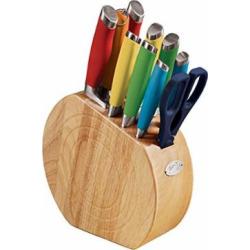 Fiesta Multicolor 11 Piece Knife Block Set