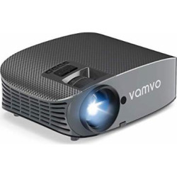 Movie Projector, Vamvo L3600 200″ LCD Home Theater Video Projector Support 1080P HDMI VGA AV USB MicroSD for Home Entertainment, Party and Games