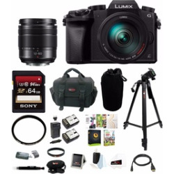 Panasonic 14-140 mm Lens Kit w/ H-FS12060 Sealed Lens & 64GB Accessory Kit