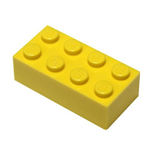 LEGO Parts and Pieces: Yellow (Bright Yellow) 2×4 Brick x500