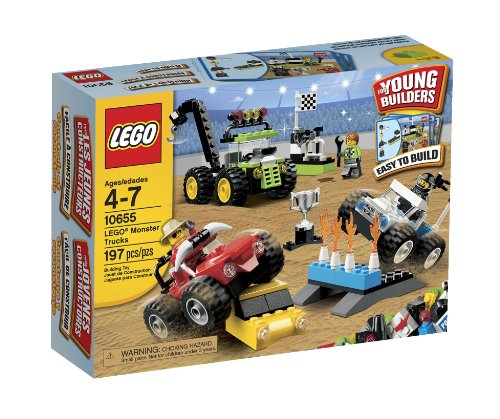 LEGO Bricks & More Monster Trucks 10655
