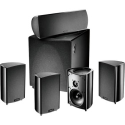Definitive Technology – ProCinema 600 5.1-Channel Home Theater Speaker System – Black