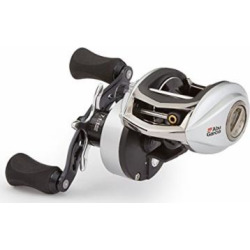 Abu Garcia RVO3 STX-HS Revo STX Low-Profile Baitcast Fishing Reel, High Speed, Right Hand