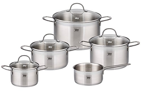 elo top collection 1810 stainless steel kitchen induction cookware pots and - Allshopathome-Best Price Comparison Website,Compare Prices & Save