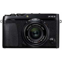 fujifilm x e3 243 mp mirrorless digital camera black with xf 23mm f2 r wr - Allshopathome-Best Price Comparison Website,Compare Prices & Save