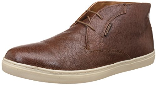 Red Tape Men's Tan Leather Boots – 8 UK/India (42 EU)