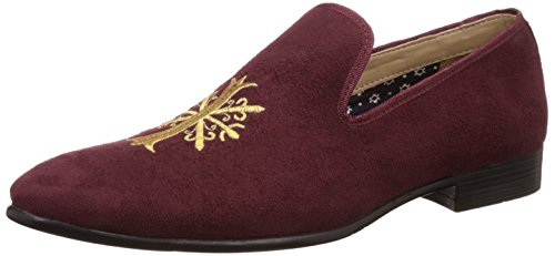 Bata Men's Jon Red Loafers and Moccasins  – 8 UK/India (42 EU)(8515307)