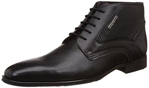 Alberto Torresi Men's Islay Black Leather Boots – 11 UK/India (45 EU)