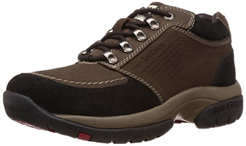 Lee Cooper Men's Brown Leather Trekking and Hiking Boots – 9 UK
