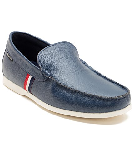 Red Tape Men's Blue Leather Loafers – 9 UK/India (43 EU)