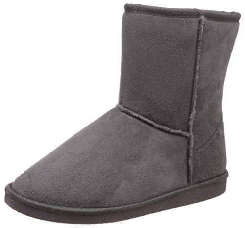 Miss CL Women's Namya Grey Boots – 3 UK/India (36 EU)