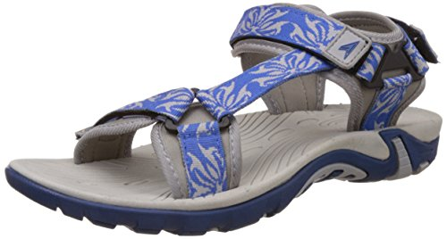 Power Women's Bally Blue Athletic and Outdoor Sandals – 4 UK/India (37 EU)(5619047)