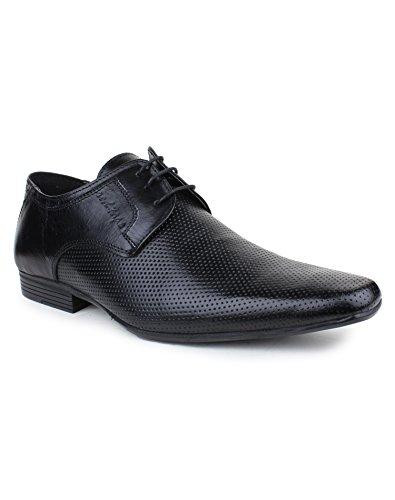 Red Tape Men's Derbys Black Leather Formal Shoes – 9 UK/India (43 EU)