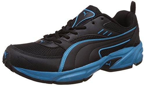 Puma Men's Atom Fashion III Dp Puma Black and Atomic Blue Running Shoes – 9 UK/India (43 EU)
