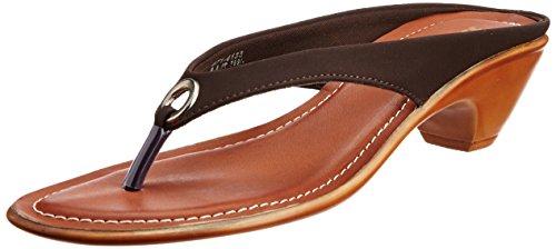 Bata Women's Aroma Th. Brown Slippers – 4 UK/India (37 EU) (6714133)
