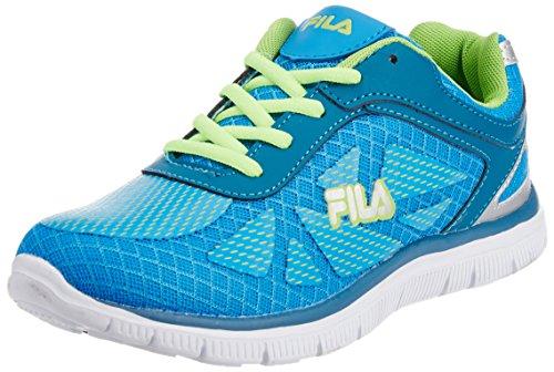 Fila Women's Maria Blue and Aqua Blue  Running Shoes -5 UK/India (39 EU)