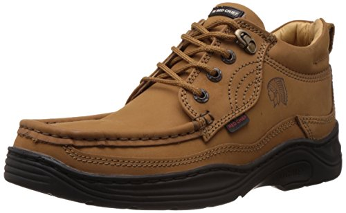 Redchief Men's Rust Leather  Boots – 10 UK  (RC1211 022)