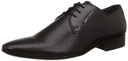 Alberto Torresi Men's Shadow Black Formal Shoes – 9 UK/India (43 EU)