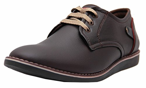 Black Tiger Shoes For Mens Synthetic Leather Shoes & Formal Shoes and sneakers 088-Brown Shoes -7