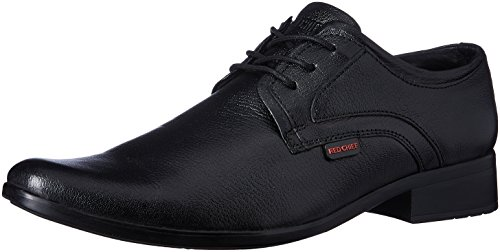 Red Chief Men's Black Leather Formal Shoes – 8 UK/India (42 EU)(RC1346A)
