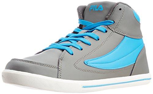 FILA Men's Street Mate Grey and Royal Sneakers – 6 UK/India (40 EU)