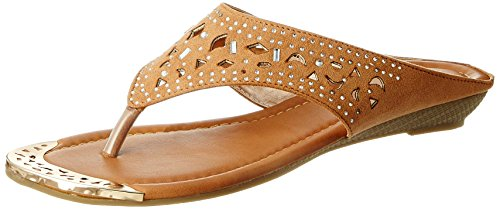Bata Women's Ulf Thong Beige Slippers – 5 UK/India (38 EU)(5718893)