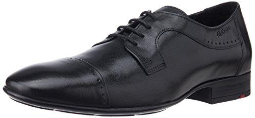 Ruosh Men's Mayor 6 Black leather Formal Shoes – 9 UK/India (43 EU)(10 US)