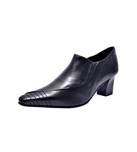 Kuja-Parish Women's Black Leather Formal Shoes (P-181 ) – 5 UK